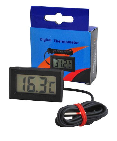Termometr Elektroniczny LCD z Sondą do Pieca CO 488 zdjęcie 4