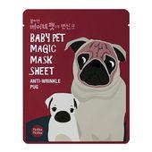 Maseczka w płacie - Mops - Baby Pet Magic Pug - Holika Holika