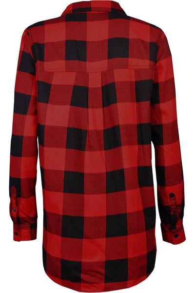 H&M Koszula Czerwono-Czarna Krata Oversize - 38 / M zdjęcie 2