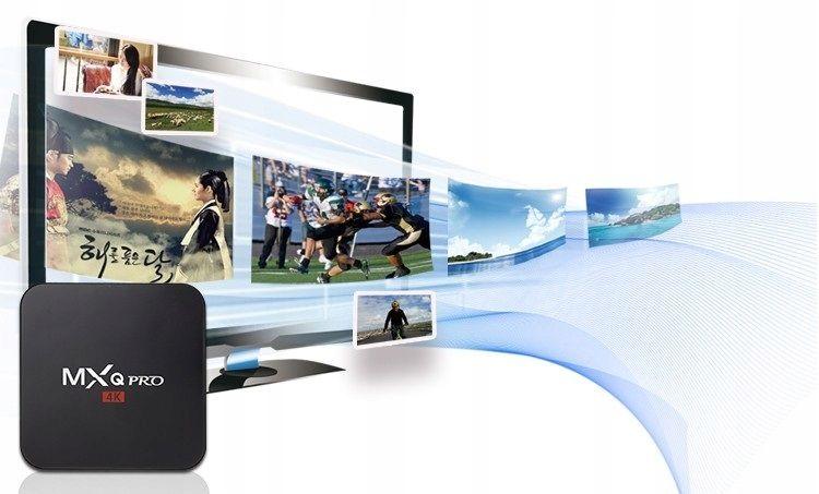 TV BOX MXQ PRO S905x Android 7 SMART 4K 1GB RAM zdjęcie 6