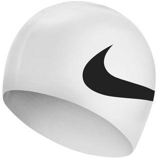 Czepek pływacki Nike Os Big Swoosh biały NESS8163-100