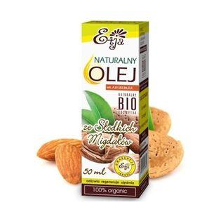 Olej ze słodkich migdałów Bio 50Ml Etja