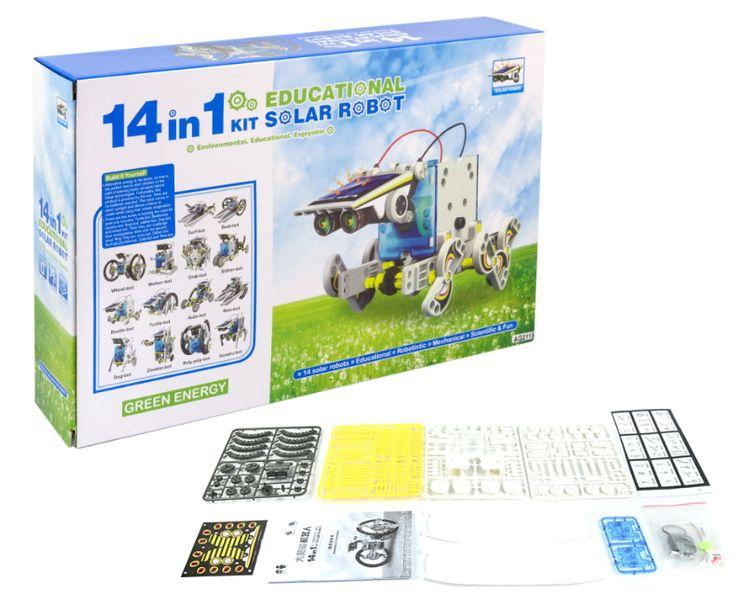 ZESTAW SOLARNY ROBOT 14 W 1 ZESTAW KONSTRUKCYJNY zdjęcie 1