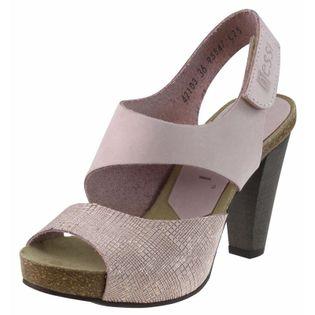 Różowe Sandały damskie Na obcasie Nessi 42103 36