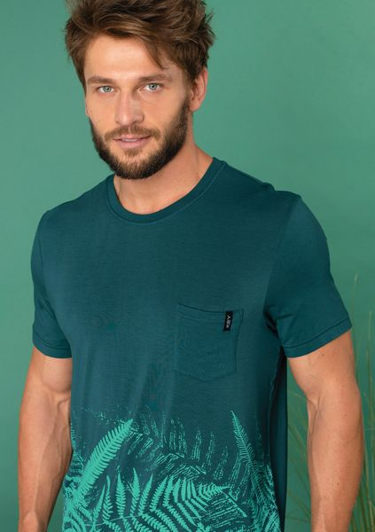 Piżama Key MNS 826 A20 kr/r M-2XL męska zielony-ciemny-czarny M na Arena.pl