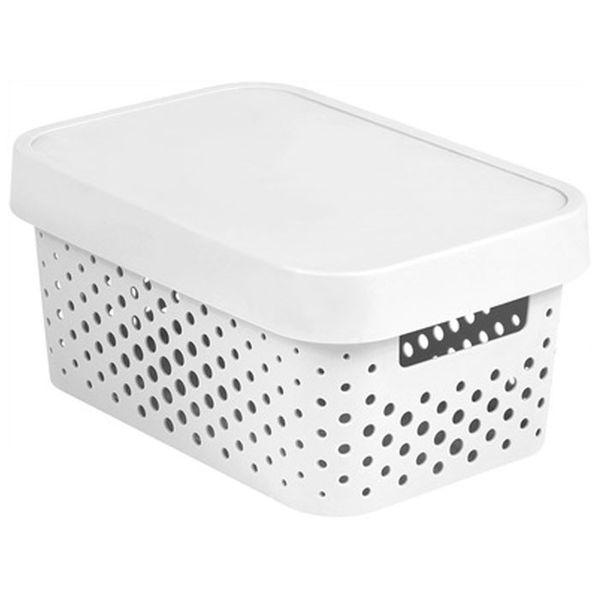 Koszyk Kosz Plastikowy Do łazienki Z Pokrywką