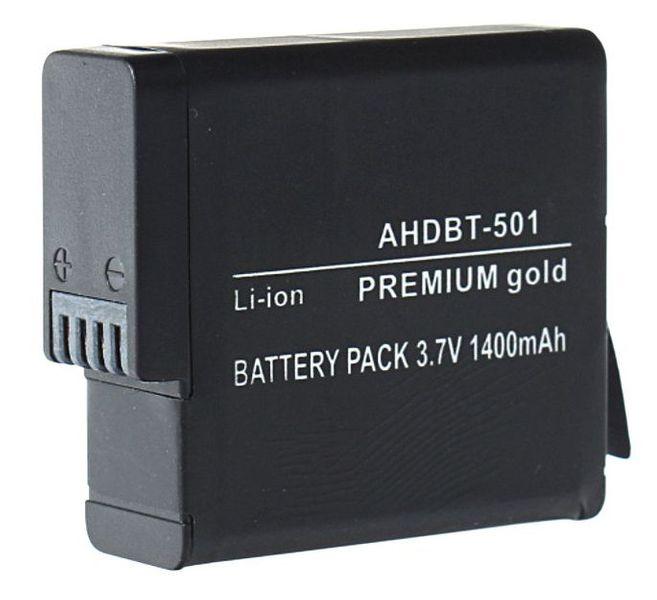 Akumulator AHDBT-501 1400mAh do GoPro Hero 5 zdjęcie 1