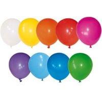 Balony lateksowe kolorowe, pastelowe na urodziny 100 szt.