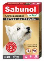 Sabunol GPI Obroża przeciw pchłom dla psa różowa Limitowana Edycja 50cm