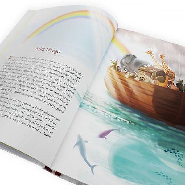 Biblia Święta Historia dla dzieci Chrzest GRAWER zdjęcie 2