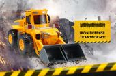 KOPARKA ROBOT TRANSFORMER TAŃCZY ŚPIEWA PO POLSKU Y79 zdjęcie 8
