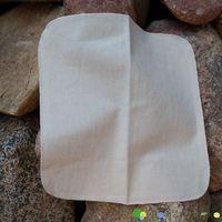 Myjka wielorazowa flanelowa, z bawełny niebielonej, 1 szt., Dziobak