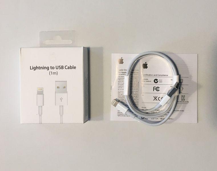 ORYGINALNY KABEL Apple iPhone 5 5S 5C SE 6 6S + 7 8 X XS XR iPad - 1M zdjęcie 4
