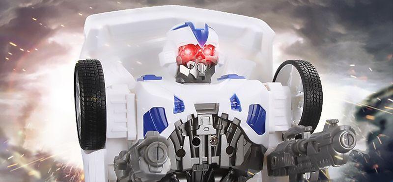 Transformers auto policja robot sterowany pilotem RC Y170 zdjęcie 6