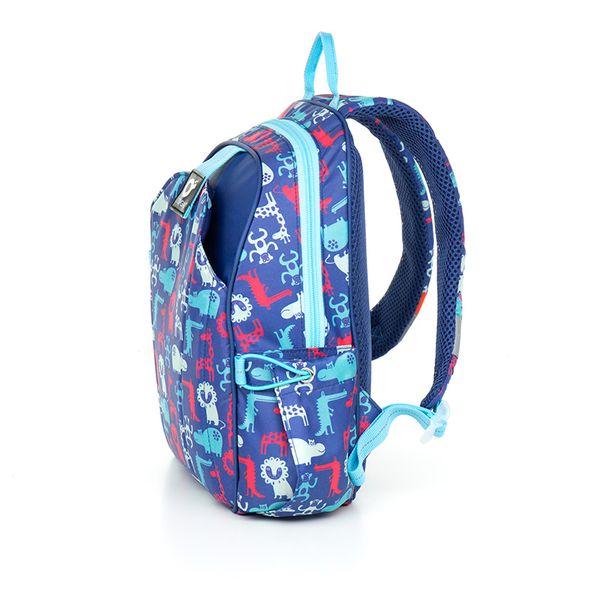 Plecak przedszkolny dla chłopca, zwierzątka CHI 839 zdjęcie 2
