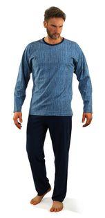 Bawełniana piżama męska Sesto Senso 07 XXL