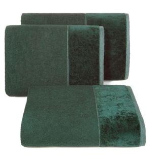 Lumarko Ręcznik LUCY 50x90cm 09 ciemny zielony