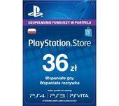 Sony PlayStation Network 36zł