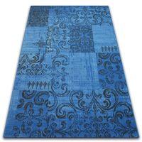 Dywan Vintage 22215/073 niebieski / szary 160x230 cm niebieski