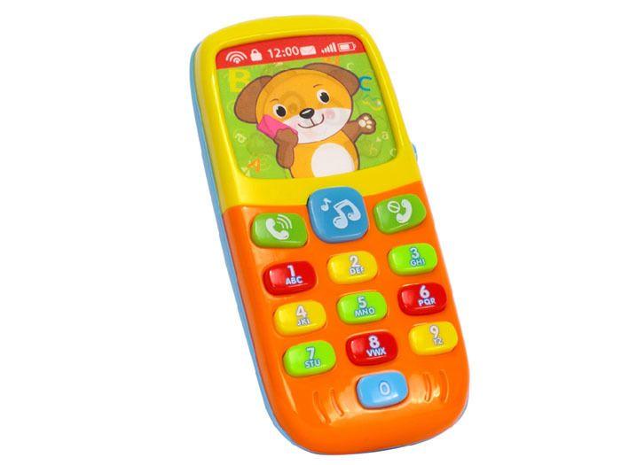 Kolorowy TELEFONIK Dla Maluszka Dźwięki Światła zdjęcie 5