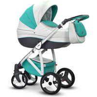 Angelo Eco 3w1 Wózki dziecięce wielofunkcyjne Deluxe Wiejar