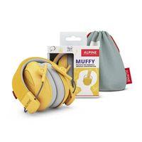 Nauszniki dla dzieci Alpine Muffy Yellow 5+