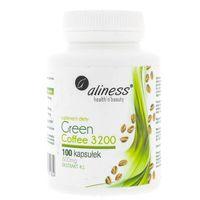 Aliness Green Coffee (Zielona kawa) 3200 - 100 kapsułek