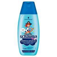 Schauma  Kids - Szampon Żel Do Mycia Ciała - Dla Chłopców - 250 Ml