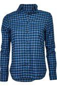 Tex Niebieska Koszula w Kratę - 40 / L
