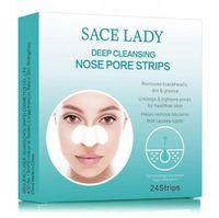 Oczyszczające plastry na nos przeciw wągrom 24 szt