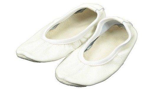 Baletki skórzane rozmiar 39 białe