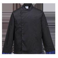 Bluza kucharska Cross-Over - BLACK; XXL