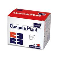 Opatrunek do mocowania kaniul Cannula Plast 7.2x5cm x50