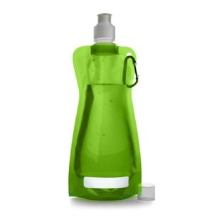 Składana butelka 420 ml z karabińczykiem