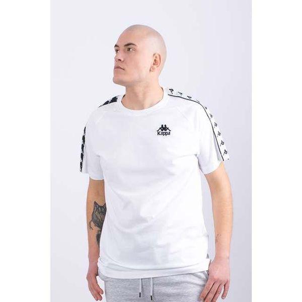 KOSZULKA KAPPA  EMANUEL T-SHIRT 001 WHITE (305001-001) XL White zdjęcie 5