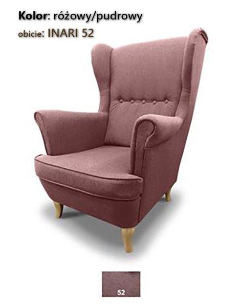 Fotel Uszak Skandynawski - stylowy design zdjęcie 4