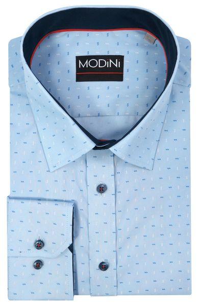 Biała koszula męska MODINI A25 188 194 51 REGULAR