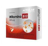 Witamina B12 prawidłowy metabolizm energetyczny 30 tabletek