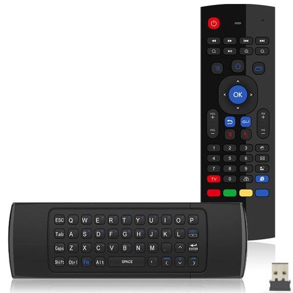 Pilot smart tv MX3 Android Box klawiatura 3w1 zdjęcie 6