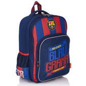 Dwukomorowy plecak dla chłopca FC Barcelona FC-131