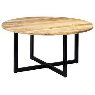 Stół jadalniany, 150x73 cm, lite drewno mango