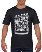 Koszulka męska NAJLEPSZY STUDENT c M