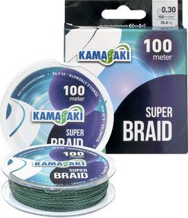 PLECIONKA KAMASAKI SUPER BRAID 0,18MM 100M