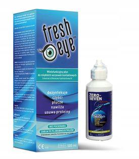 Uniwersalny płyn FRESH EYE 500 ml+ Zero-Seven 80ml