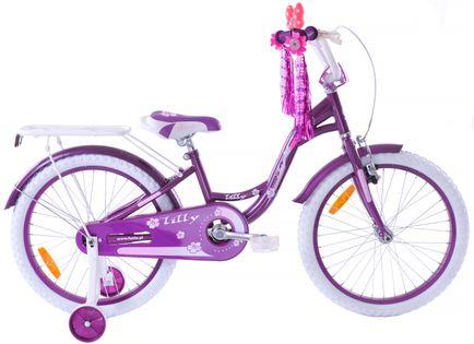 Rower dziecięcy 20 Fuzlu Lilly violet / white