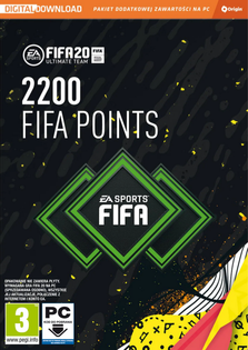 2200 Fifa 20 Ultimate Team Points - PC