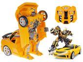 Transformer auto robot 2w1 Bumblebee zdalnie sterowany RC 2.4GHz U20 zdjęcie 14