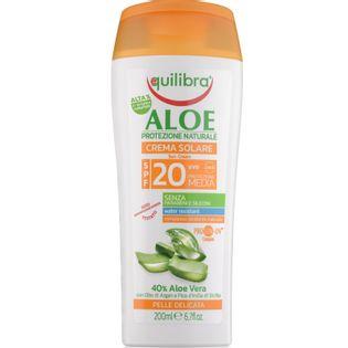 Equilibra Krem Przeciwsłoneczny Spf 20 Aloesowy