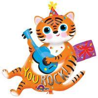 Balon foliowy YOU ROCK tygrysek na urodziny DUŻY