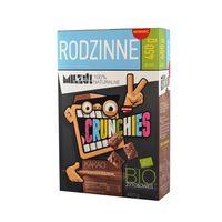 Milzu Płatki Crunchies Żytnio-Owsiane Kakaowe BIO 450 g